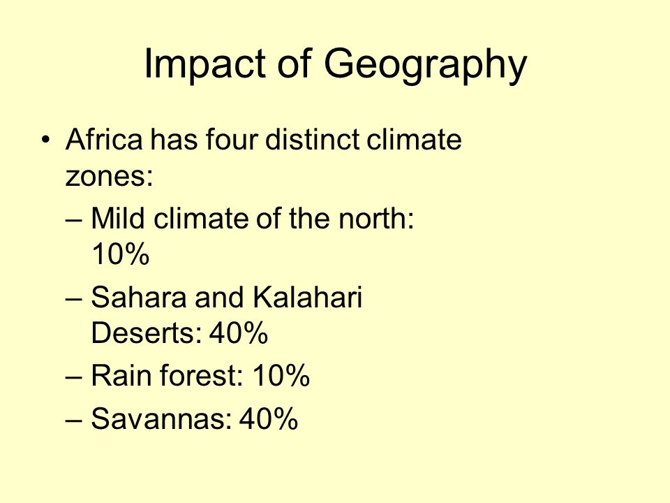 What Effect Does Geography Have on Climate?