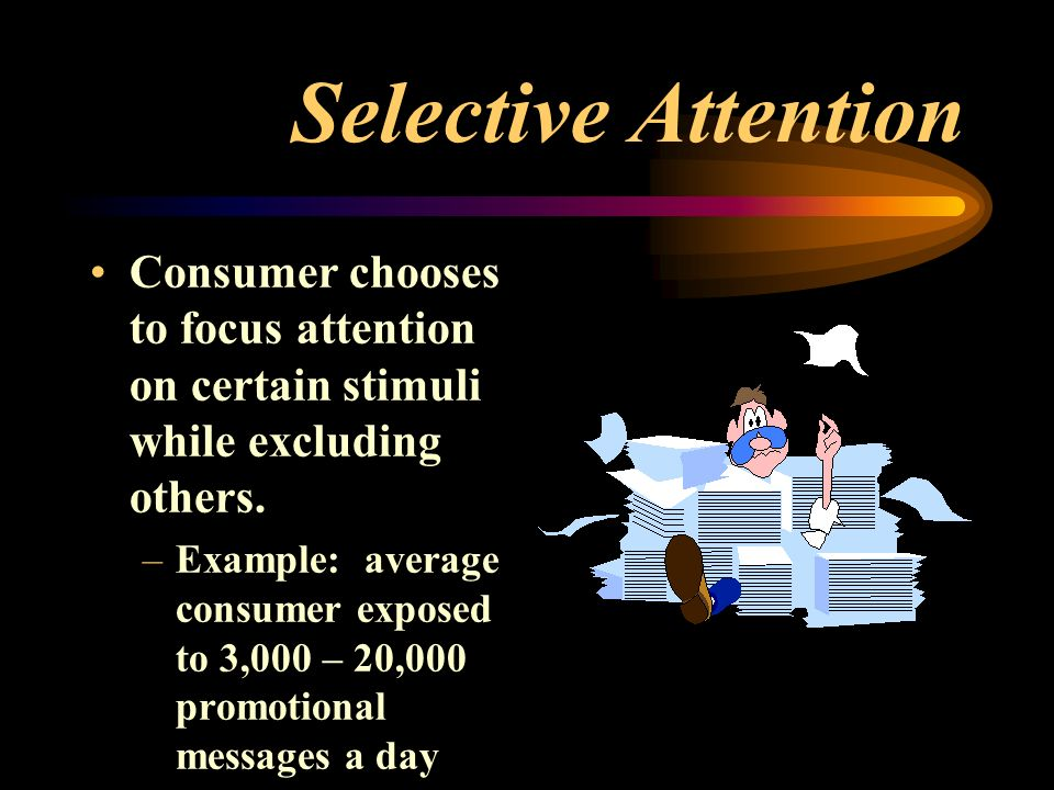 idea of selective attention The original selective attention task this video is the one that started our collaboration and inspired the book you can read more about it here the monkey business illusion this was dan's submission to the 2010 best illusion of the year contest  invisible gorilla around town.