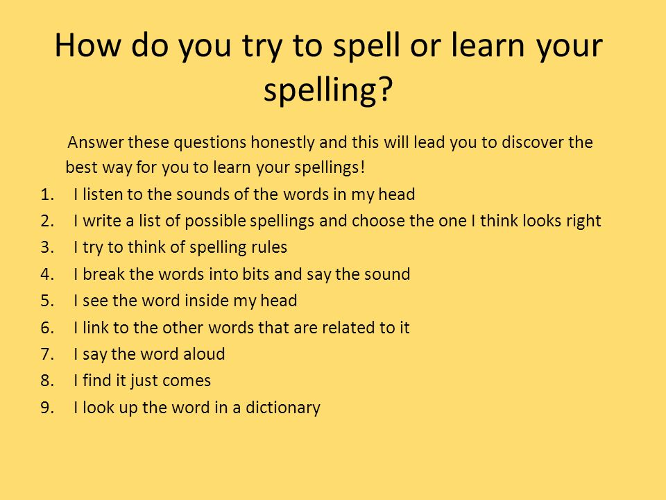 How to Spell Words in English Correctly – Spelling Check ...