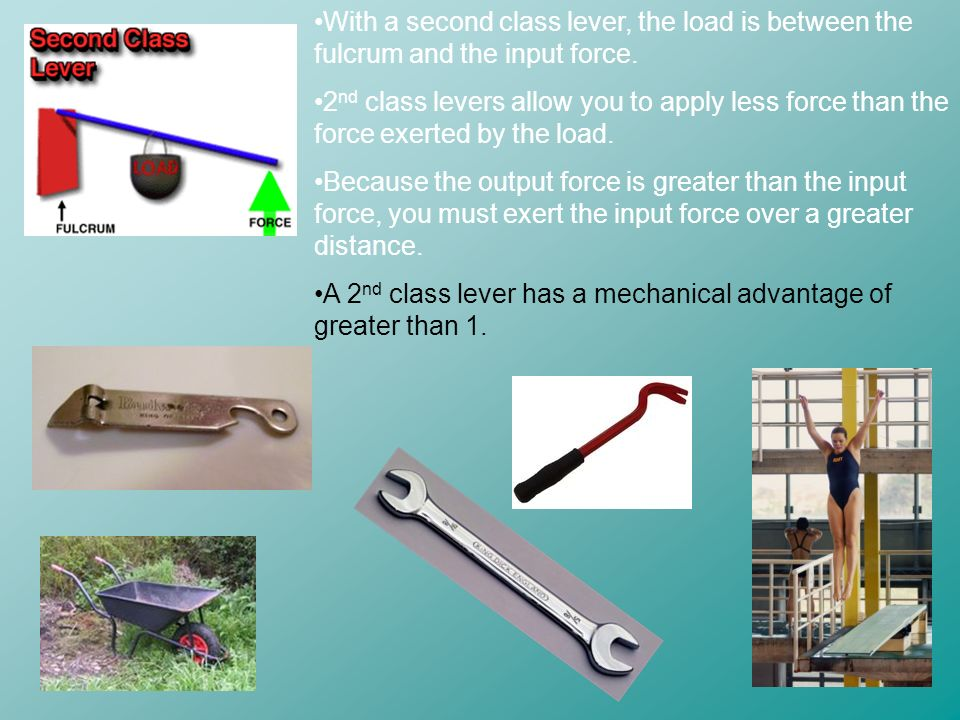 Lever Input And Output Force : Work and machines ppt video online download
