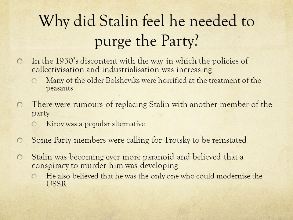 stalin modernisation of the ussr Chapter 26,27,29: russian modernization, russian revolutions, and stalin 1)the modernization of russia a) stalin's soviet union a.