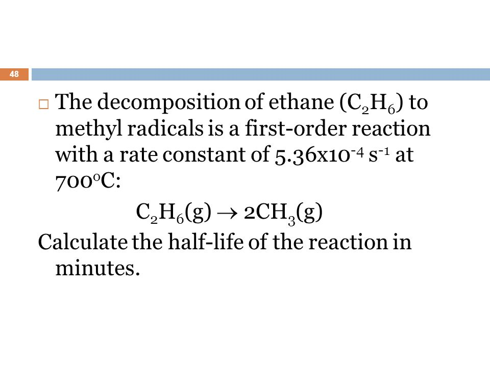 how to know units of rate constant