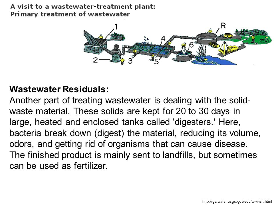 Screening wastewater entering the treatment plant for How to get rid of fish odor syndrome