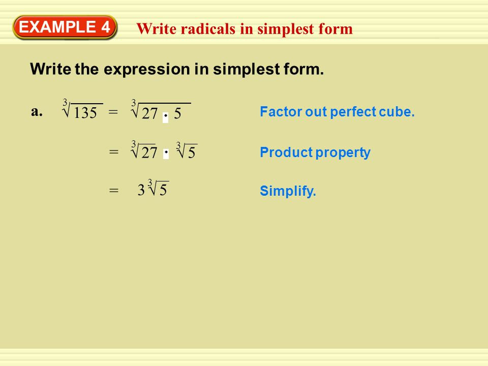 Write the expression below as a product of two factors