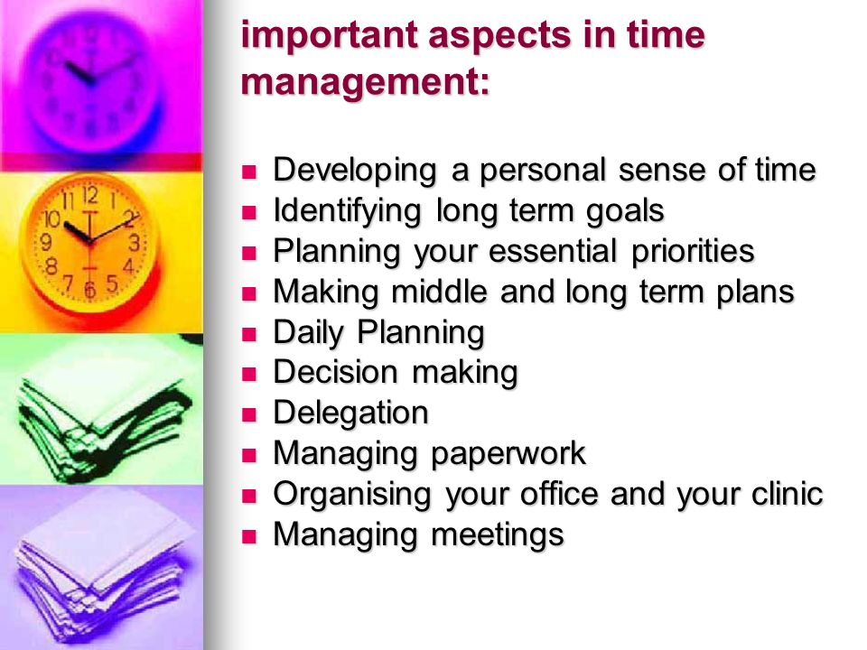 Middle Term Planning : Time management ppt video online download