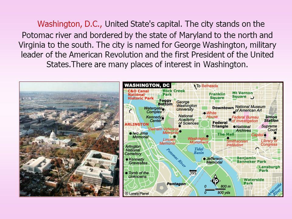 which state is washington dc