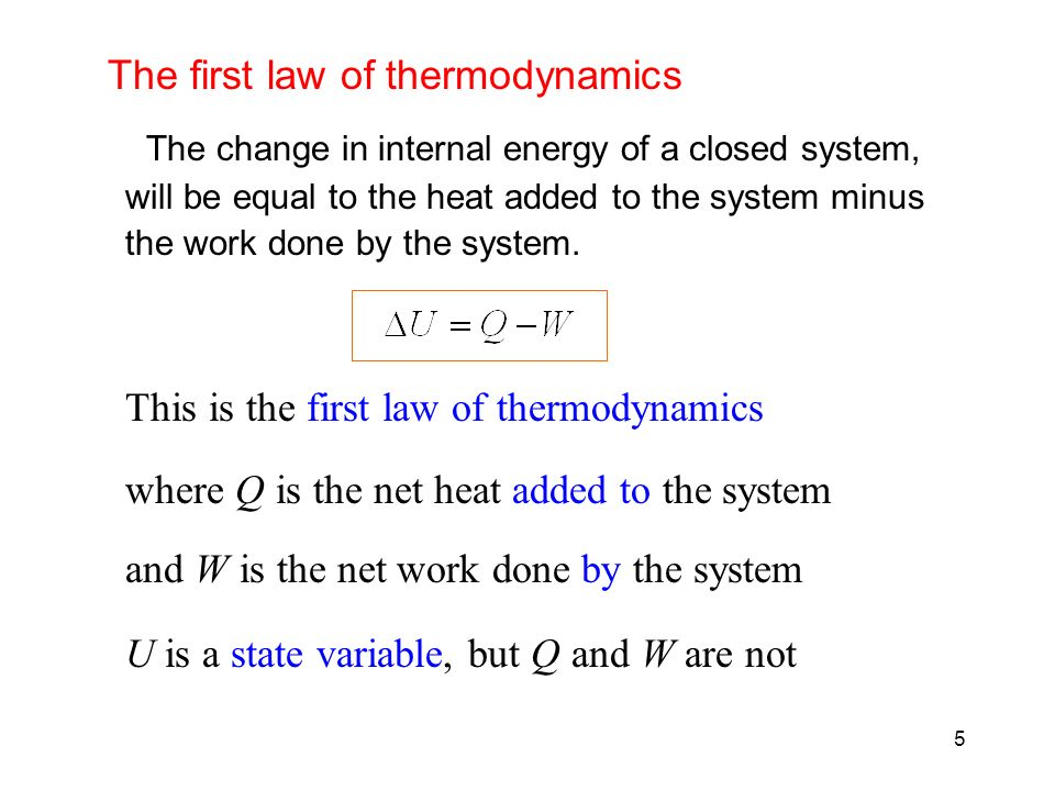 an analysis of the first law of thermodynamics And the first law of thermodynamics are derived interestingly, according to  insensitivity of the analysis to the chosen cosmological constant,.