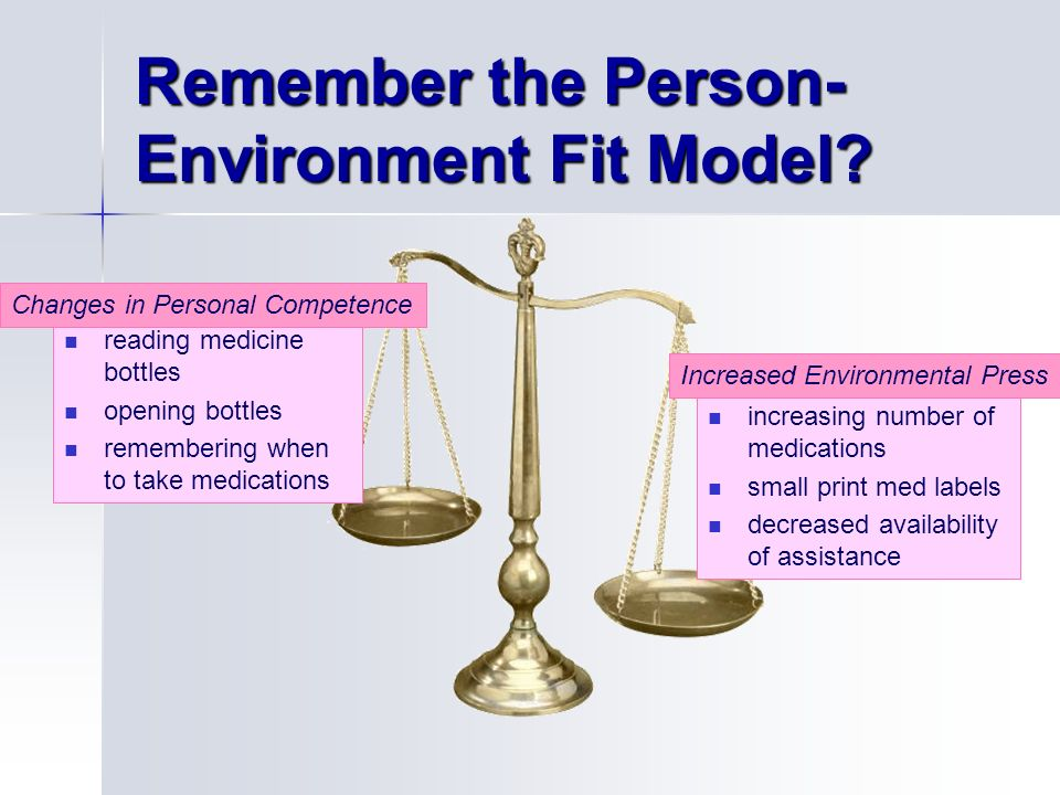 competence environmental press theory definition In competence-environmental press theory, area in which increases in press tend to improve performance zone of maximum comfort slight decreases in press, in which people are able to live happily without worrying about environmental demands.