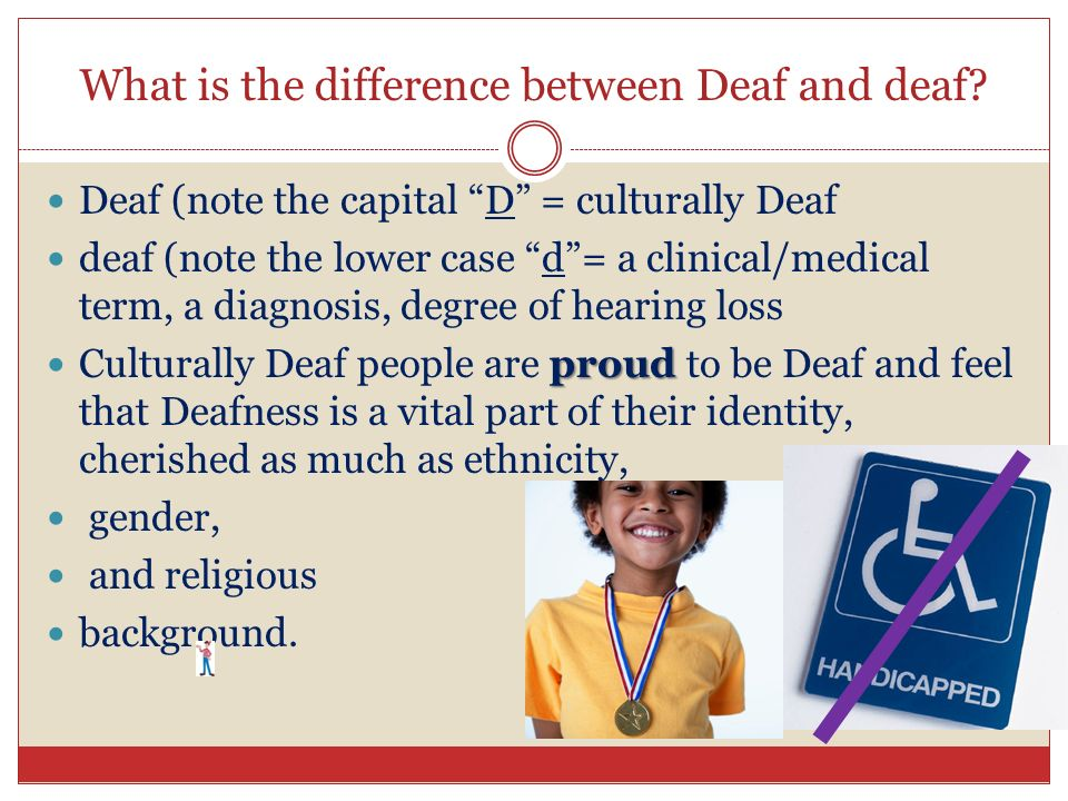 deaf culture versus deaf community essay Learn about the distinction and this aspect of deaf culture big d and small d in the deaf community share pin email search the site go.