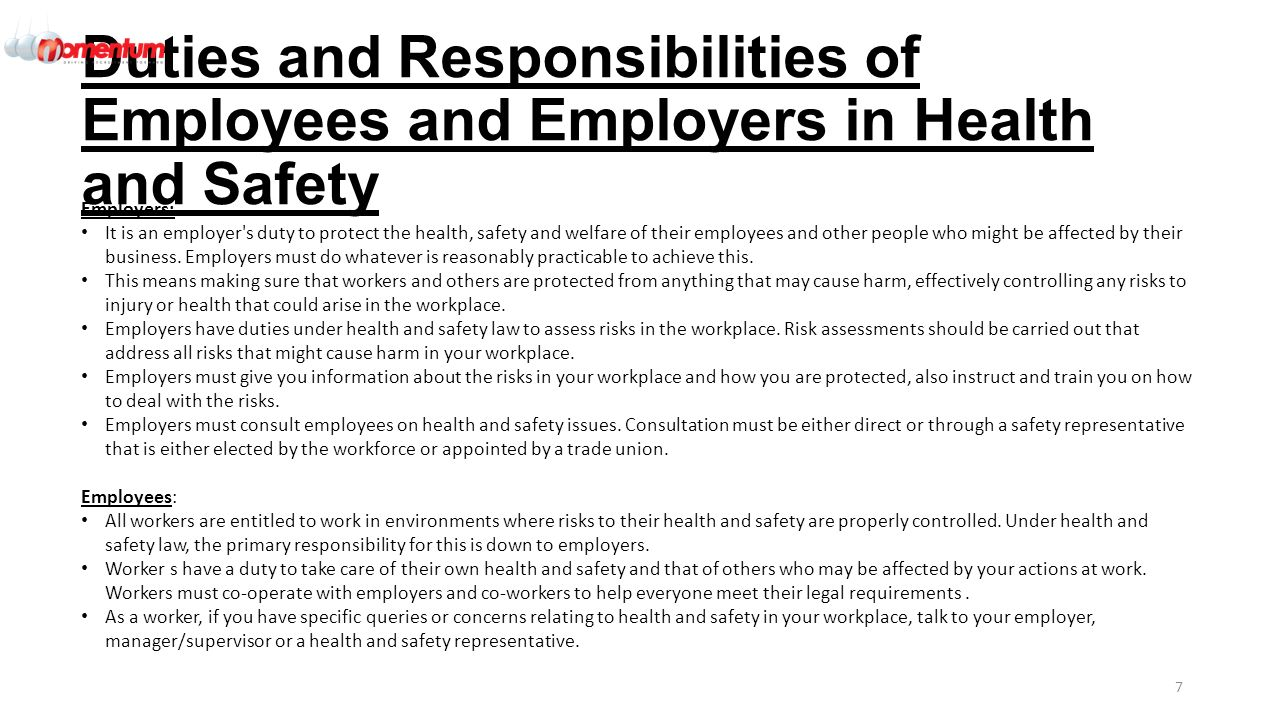 responsibilities in health and safety 12 assess the responsibilities in a specific health and social care workplace for the management of health and safety in relation to organisational structure the business dictionary defines organisational structure as.