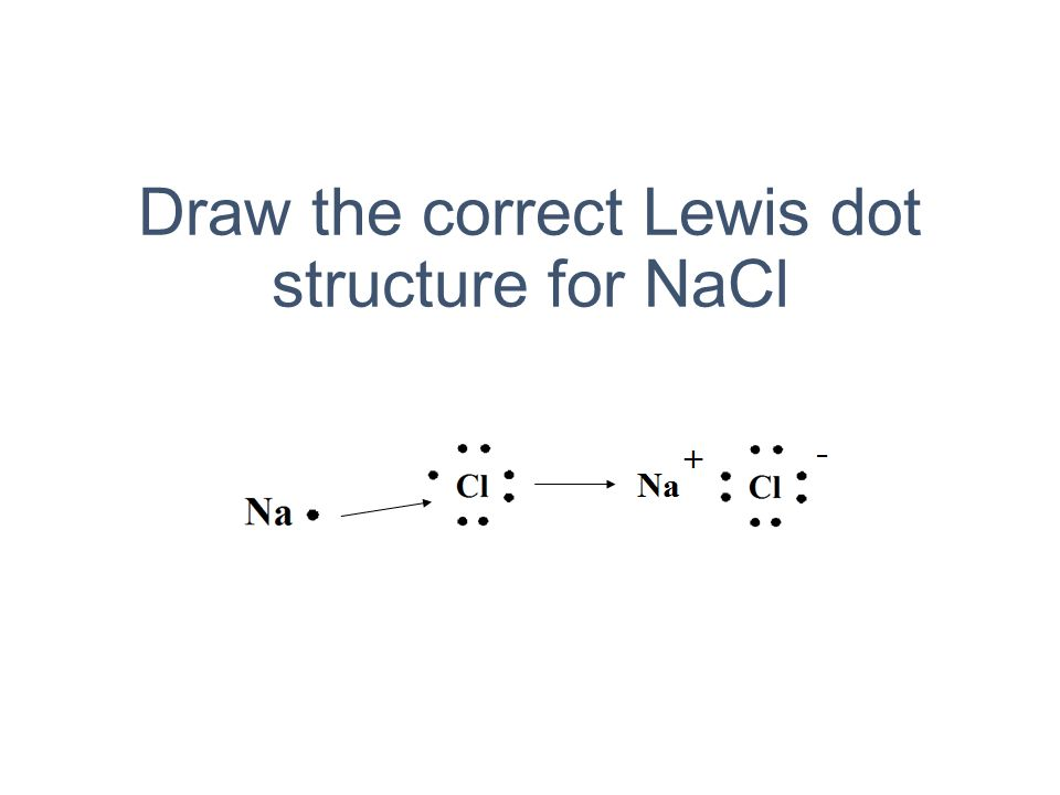Lewis Dot Diagram Nacl Auto Electrical Wiring Diagram
