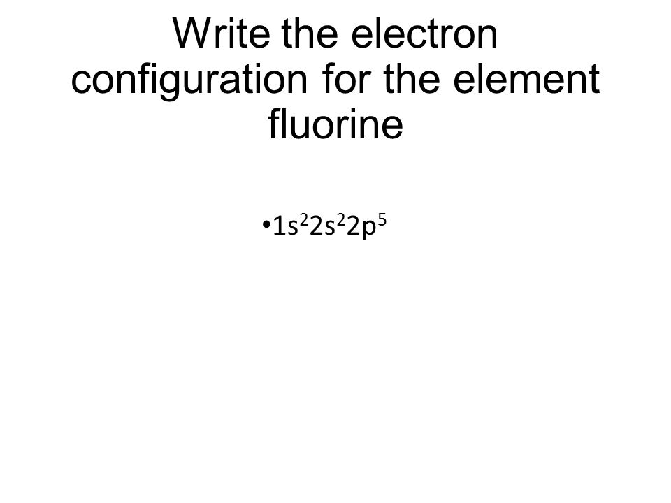 Electron Dot Diagram For Fluorine Exceptions To The Octet Rule