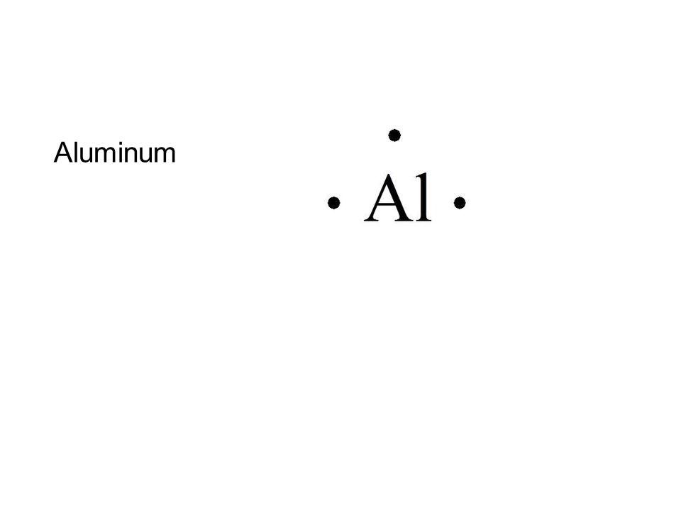 Aluminum on Calcium Lewis Dot Structure