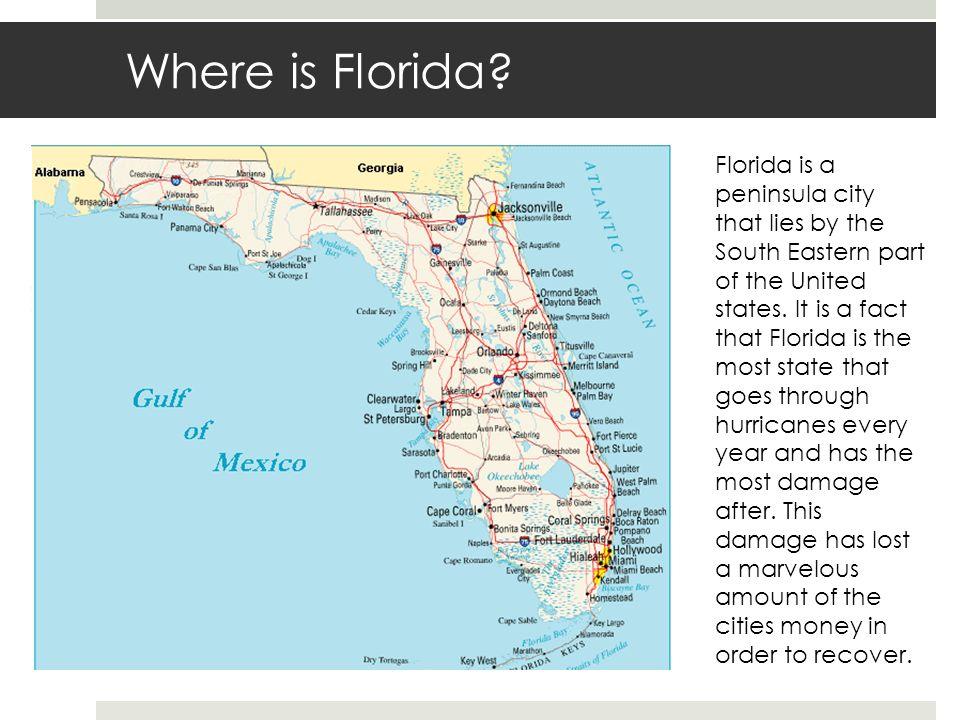 Hurricane Wilma Layan AlThani A Ppt Download - Is florida part of the united states