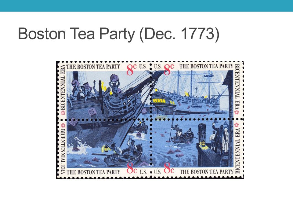 the boston tea party The infamous boston tea party, a protest against tea duties in december 1773 sparked off the american war of independence.