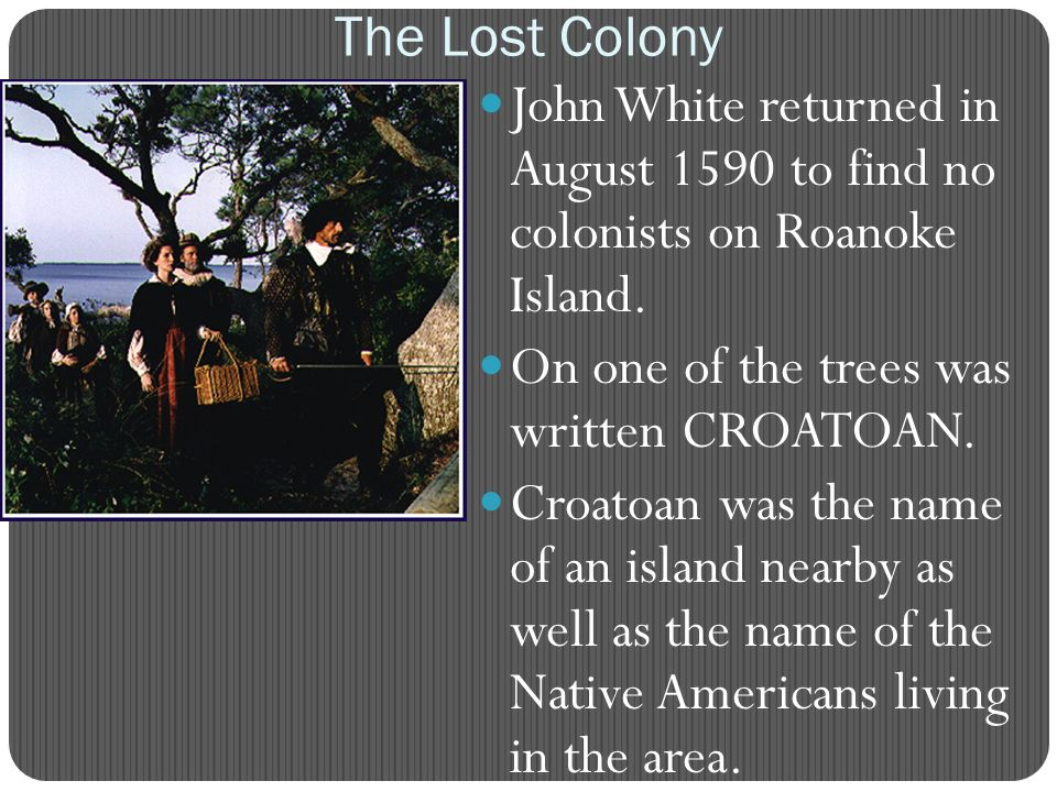 "Archaeologists Find New Clues to ""Lost Colony"" Mystery"