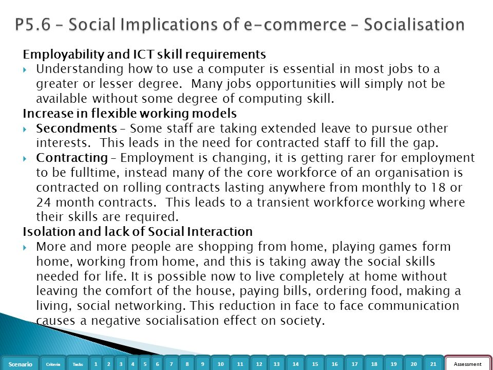 social implications of computer in a society The social and ethical implications of computer use the society in which we from cal 350 at michigan state university.