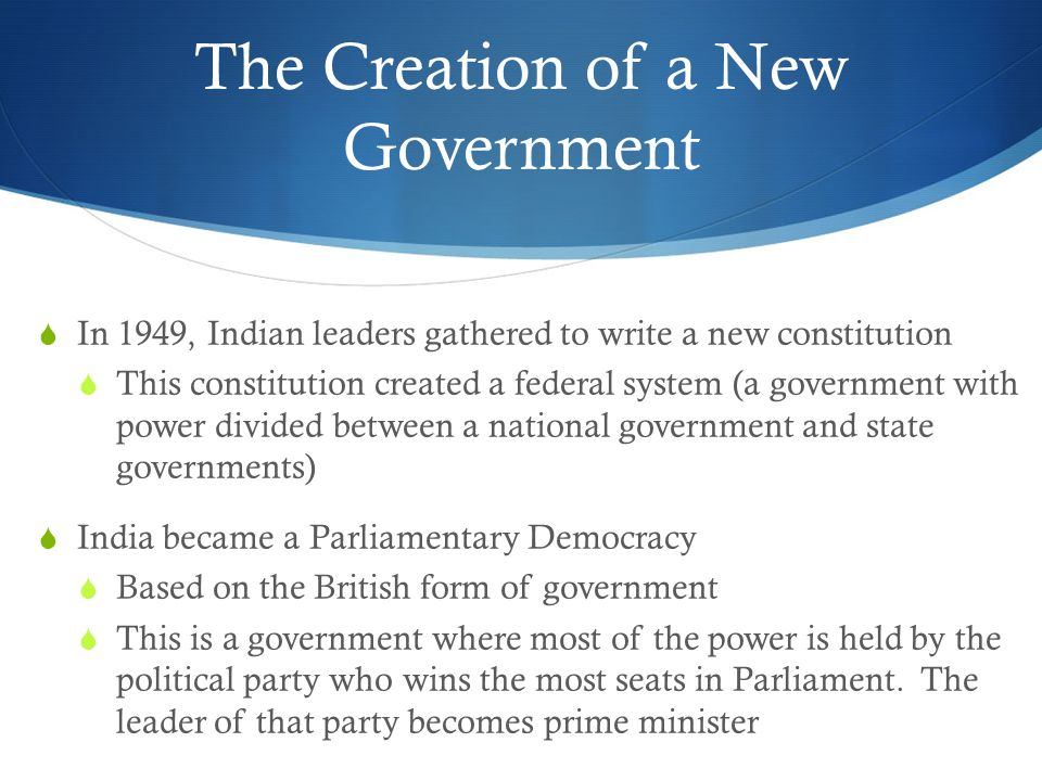 Modern India Government. - ppt video online download