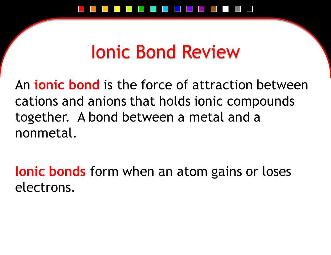 Covalent Bonds. - ppt download