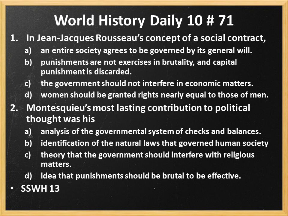 an analysis of the general wills idea in social contract by jean jacques roussea The idea of social contract can be summed up as the notion that people or citizens are the source of power to the state and that the state exists to serve the people in other words, it is the view that moral and political obligations are dependent upon an agreement between the state and its.