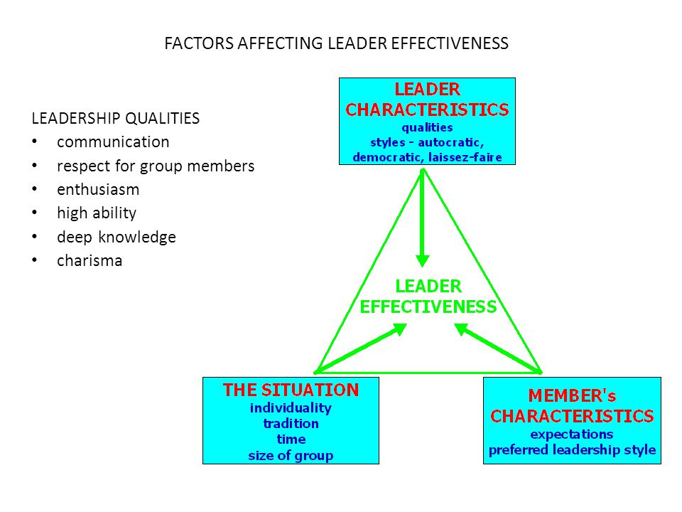 factors affecting effective communication Factors affecting performance management system outcomes journal of information technology management volume xvii, number2,  (5% not effective 30% poor.