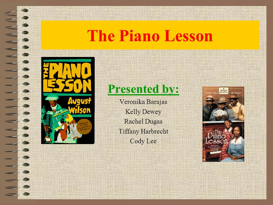 the piano lesson august wilson summary