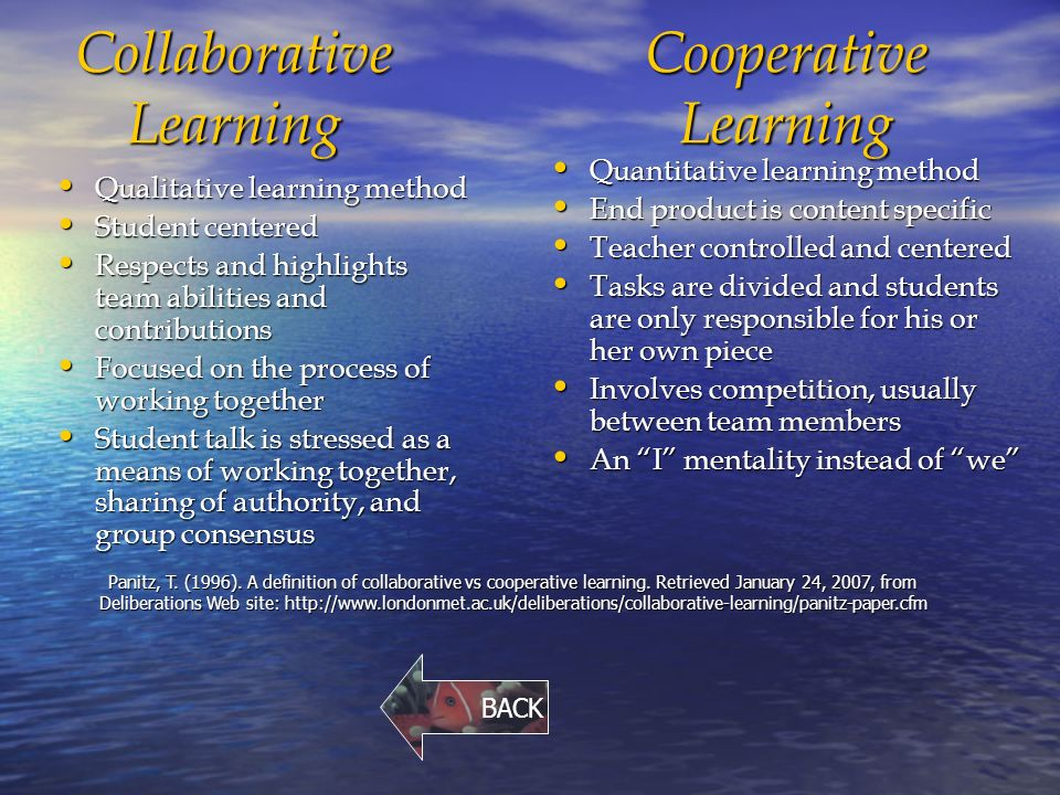 "Collaborative Teaching Definition ~ ""just keep swimming just ppt download"