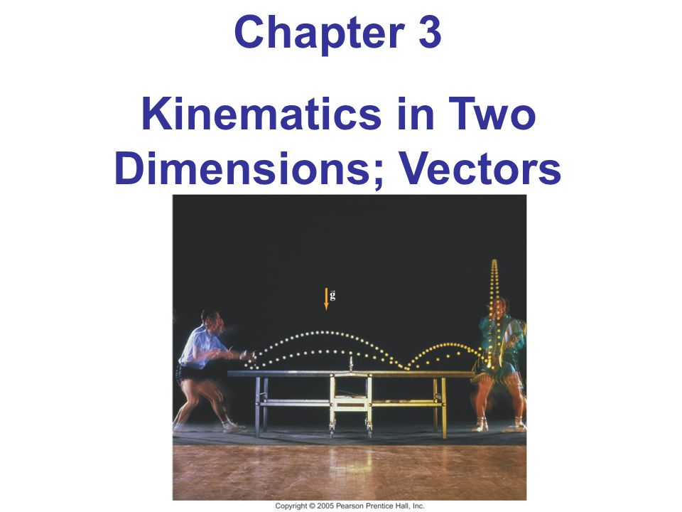 kinematics in one dimension Kinematics in one dimension kinematics in two the quantities in the x and y directions can be analyzed with the one‐dimensional motion equations subscripted.