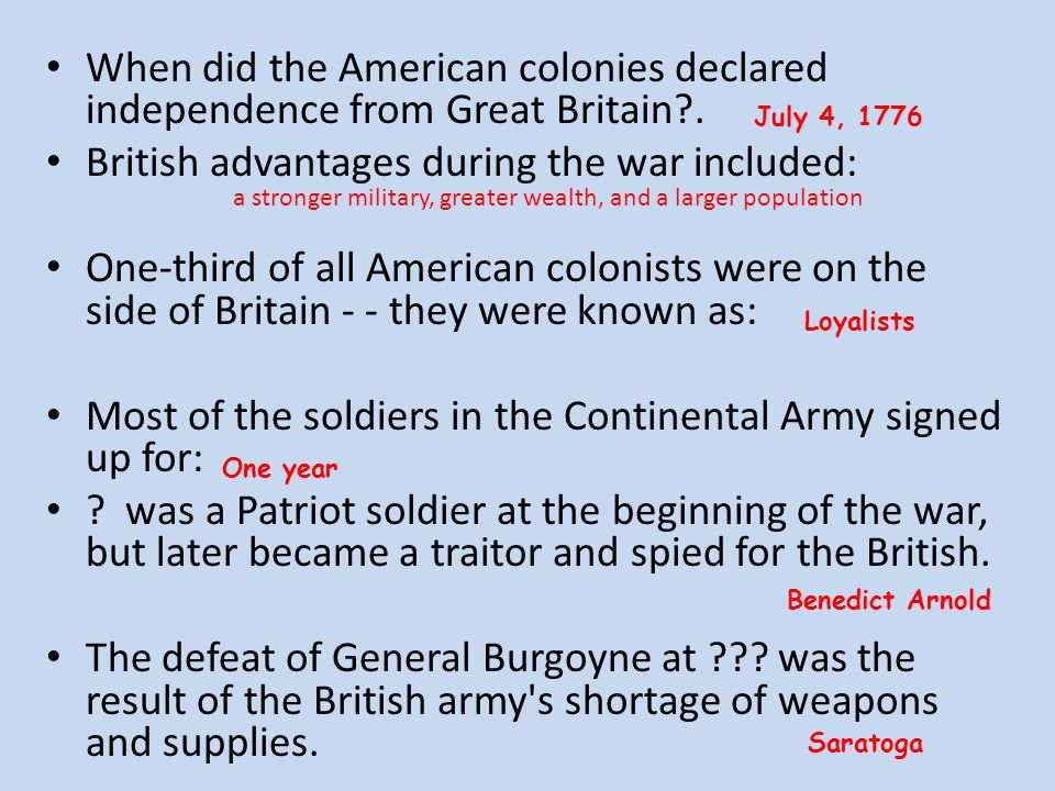 great britain and the american colonies essay The french and indian war had a dramatic effect on the american colonies  britain was occupied with the seven years war with france and had kind of left  the american colonies to    and-i.