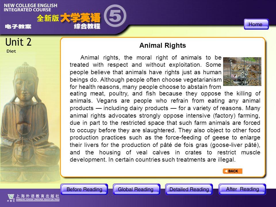 BR2- Animal Rights Animal Rights