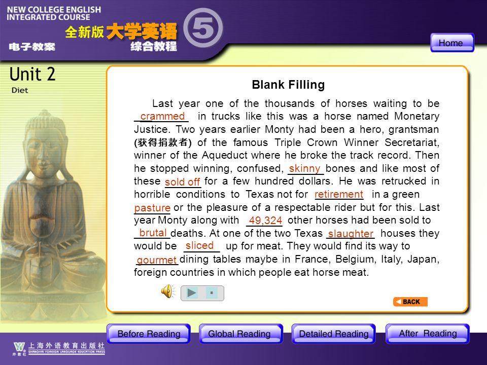 BR1- Blank Filling Blank Filling