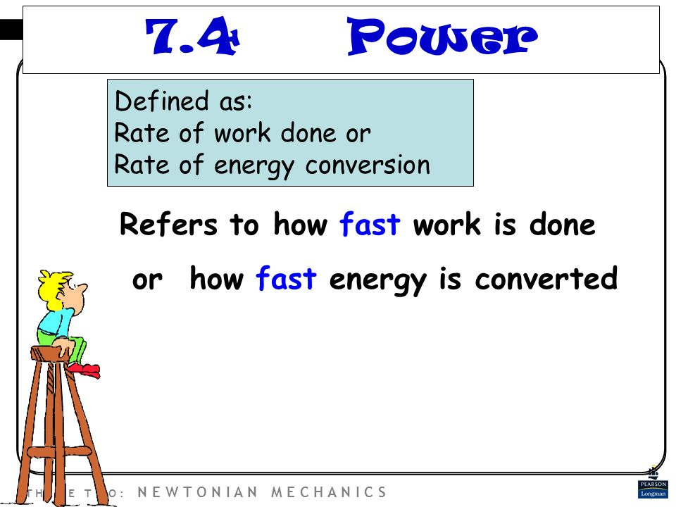 Energy, Work & Power. - ppt video online download