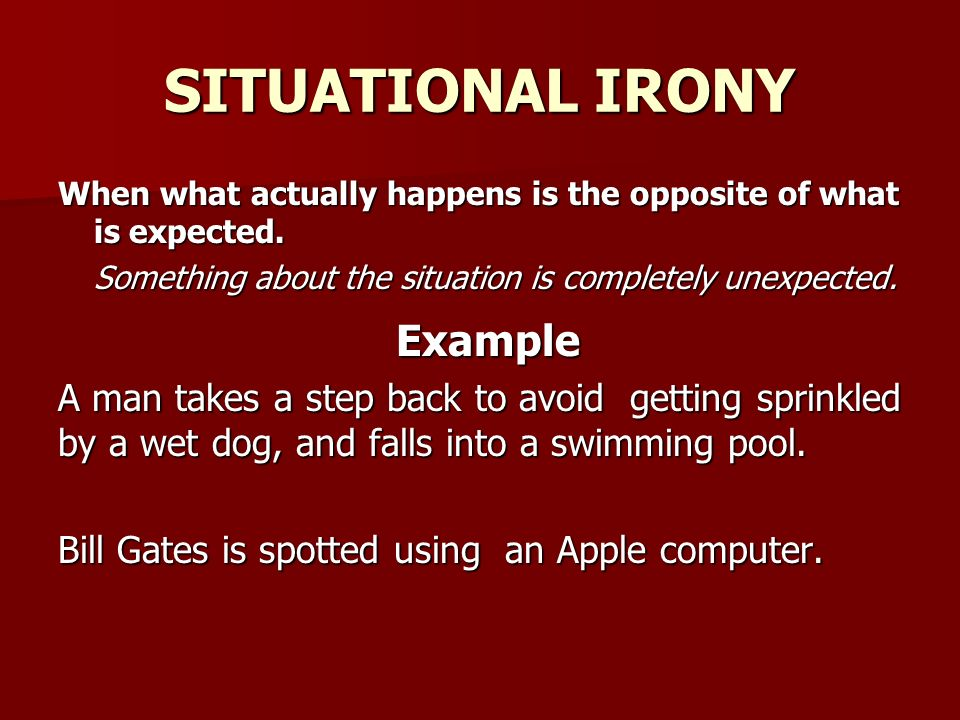 Isn't it Ironic?. - ppt download