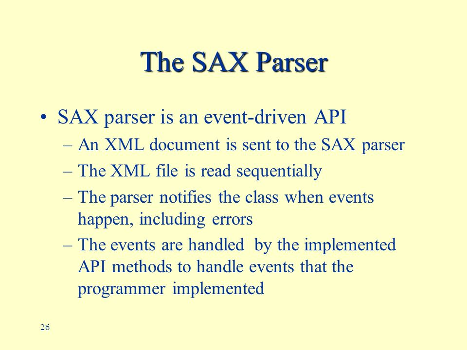 Processing XML with Java ppt download – Xml Programmer