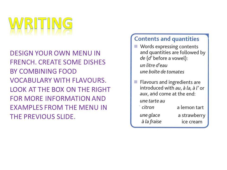 create a restaurant menu selo l ink co