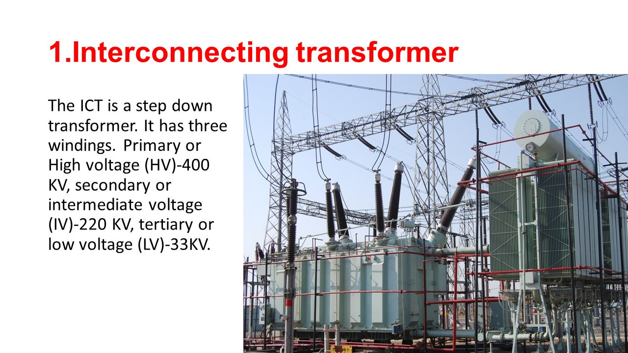 1.Interconnecting transformer