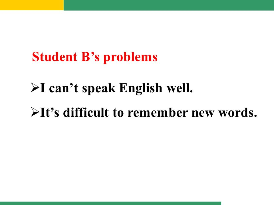 the inherent problems of english speakers who are learning a new language Problem-based learning and adult english language learners (with native english speakers and english language students.