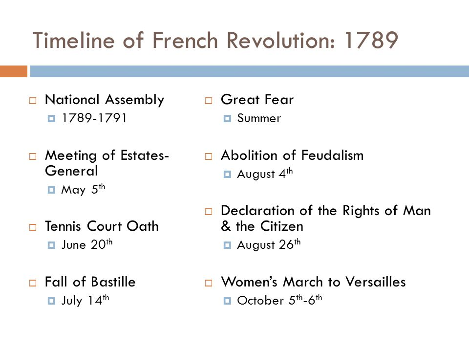 the main revolutionary event of 1789 A key feature of 1688-type revolutions is their relative brevity  for them, the  revolution is not a discrete event, but an ongoing cause  in other cases (such  as 1789 itself), it may seem to start off as a more limited event, only.