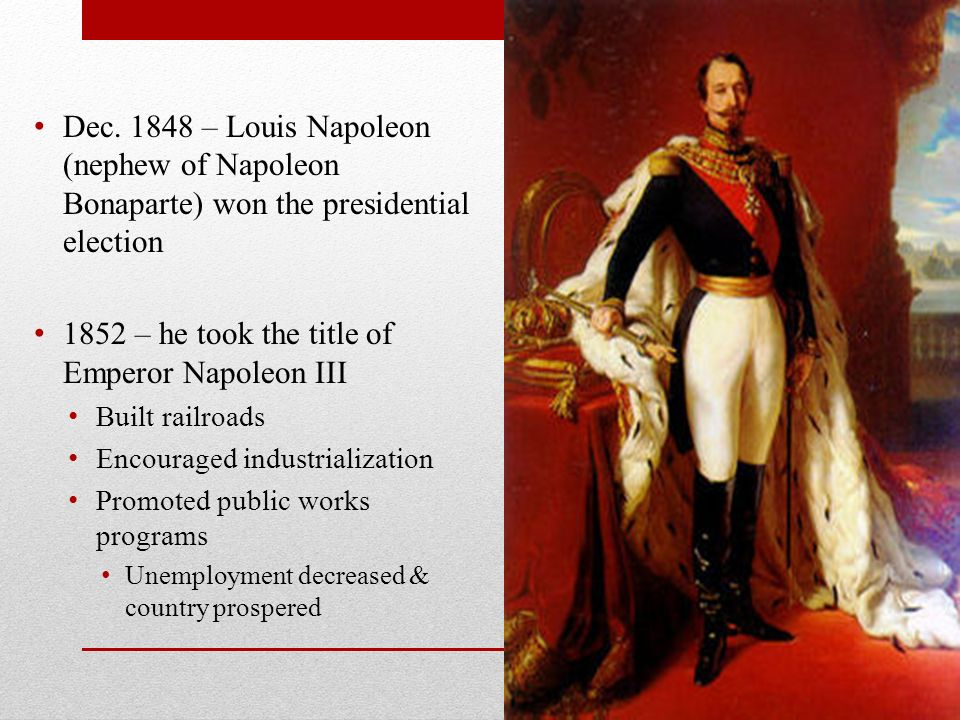 napoleon bonaparte restored stability and leadership in france Stability a by 1795 the revolution had achieved tremendous reforms while people in france turned to napoleon as stabilizer inside the country, he remained a revolutionary for the v napoleon bonaparte's rise to power.