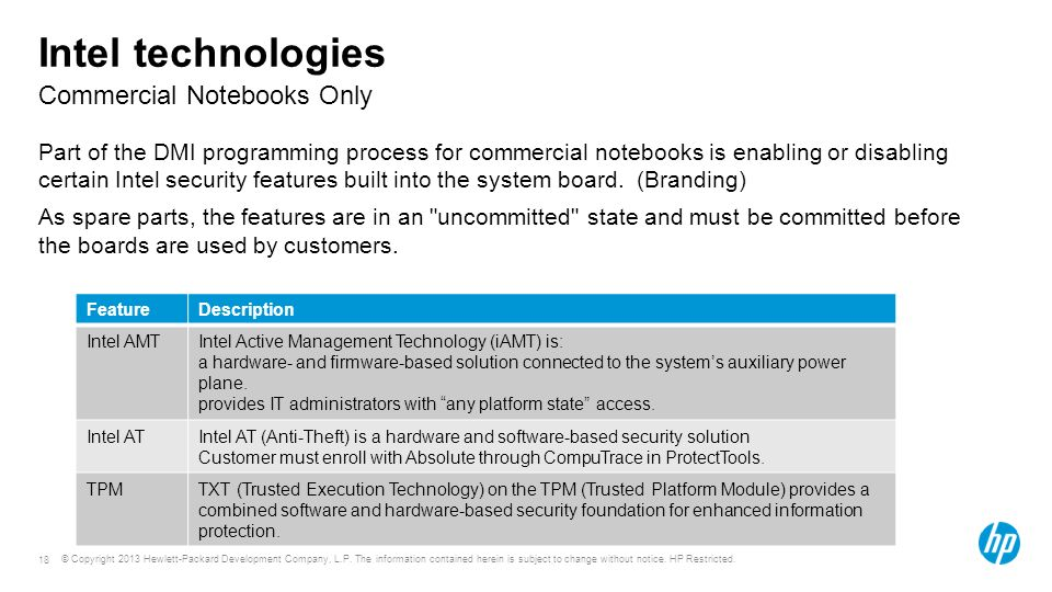 Course or module title Commercial Notebooks Only