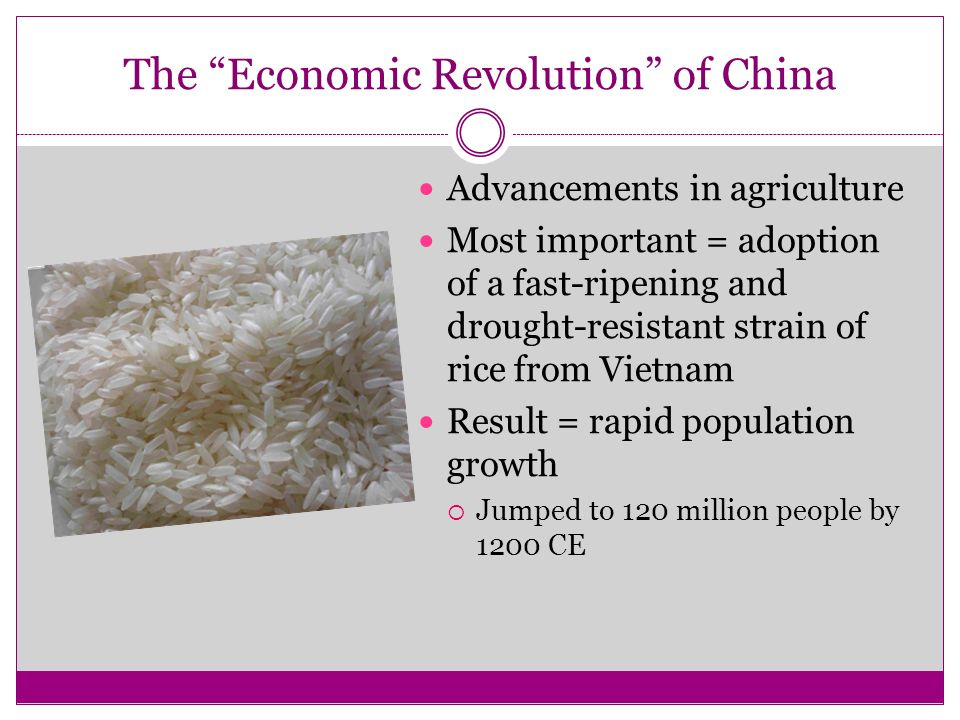 The Economic Revolution of China