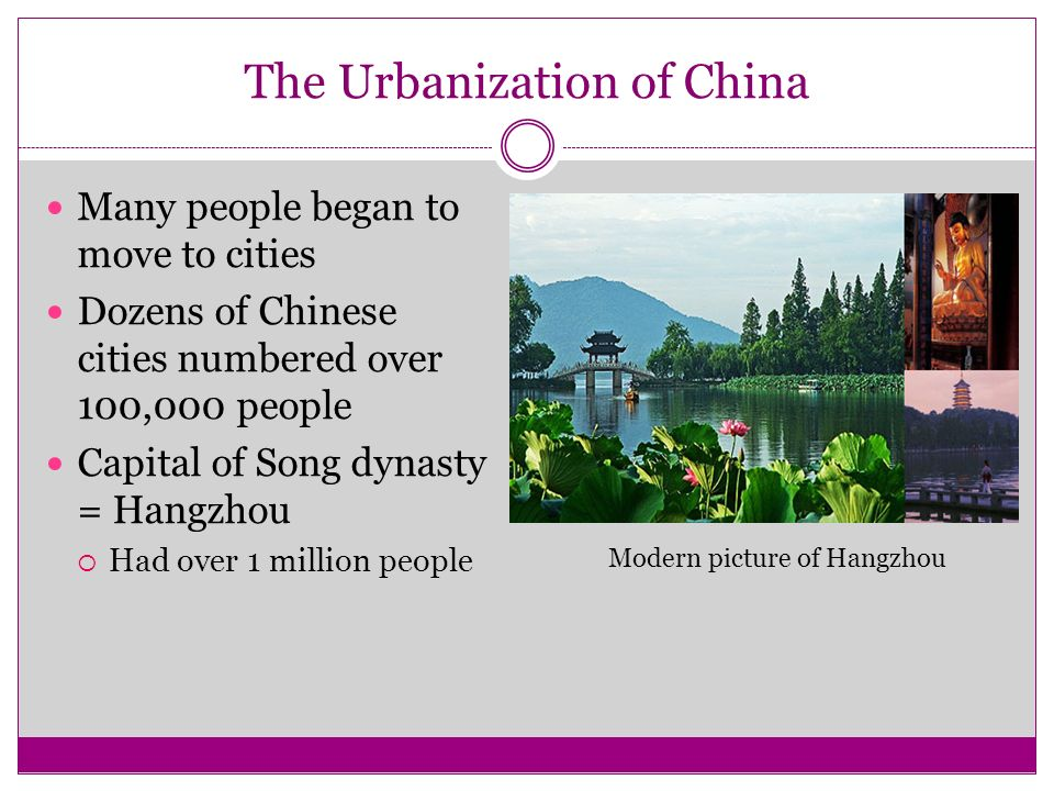 The Urbanization of China