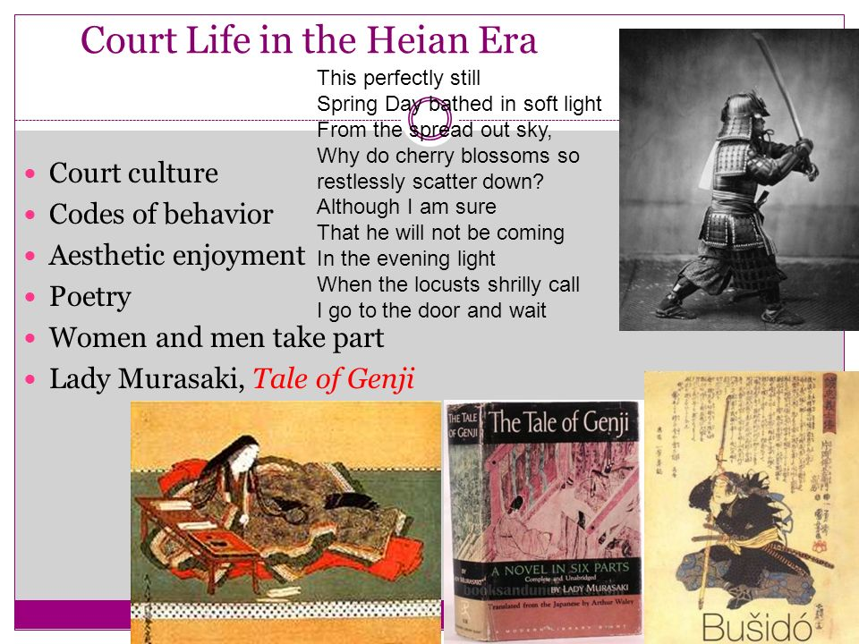 Court Life in the Heian Era