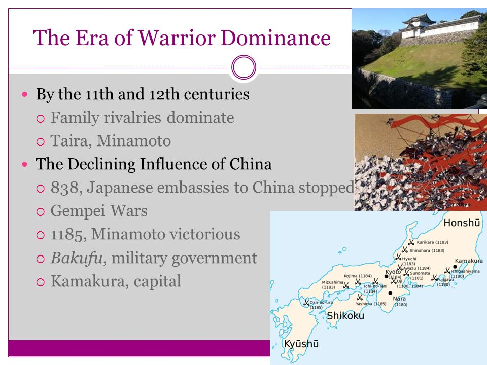 The Era of Warrior Dominance