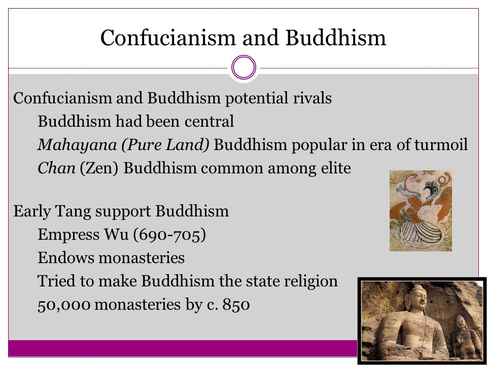 Confucianism and Buddhism