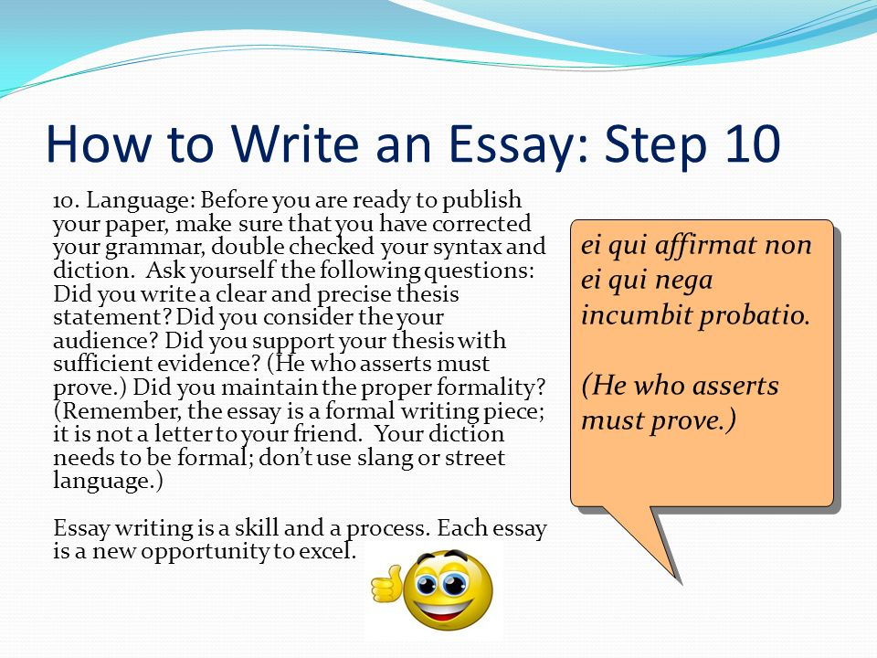 how to write a question essay Answering assignment questions in order to decide how to answer an essay question essay writing: the basics essay and assignment planning.