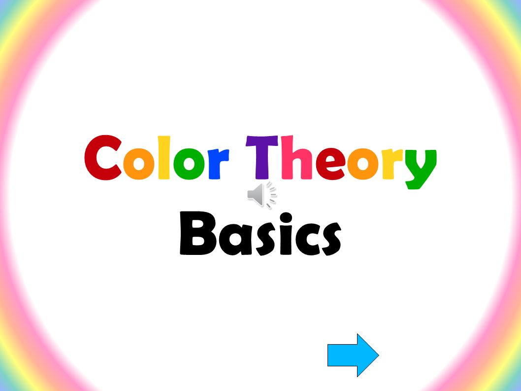a discussion of the basic concepts of the color theory Theory of color design  the basic principle of harmony is derived from the  no useful discussion of co ors 's possible i must see.