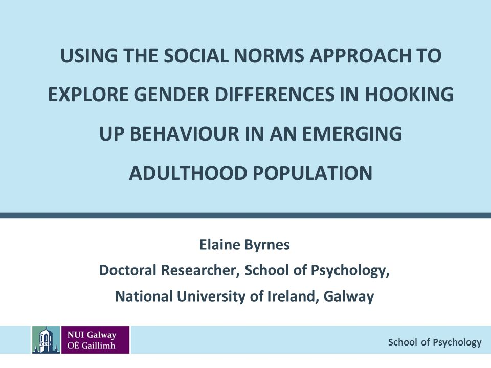 an introduction to the gender differences in social psychology Gender differences in sexuality: a meta-analysis social learning theory gender differences in sexuality.