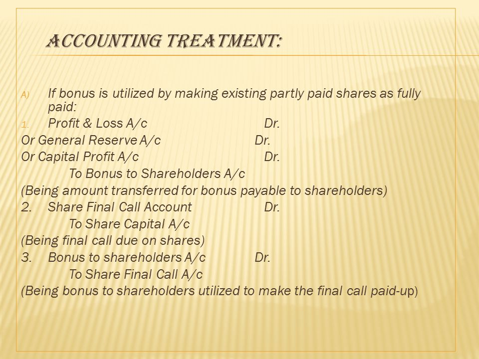 difference between bonus shares and right share Advertisements: stock dividend or bonus shares: meaning, advantages and limitations meaning: a stock dividend represents a distribution of shares in lieu of or in addition to the cash dividend (known as bonus shares in india) to the existing shareholders.