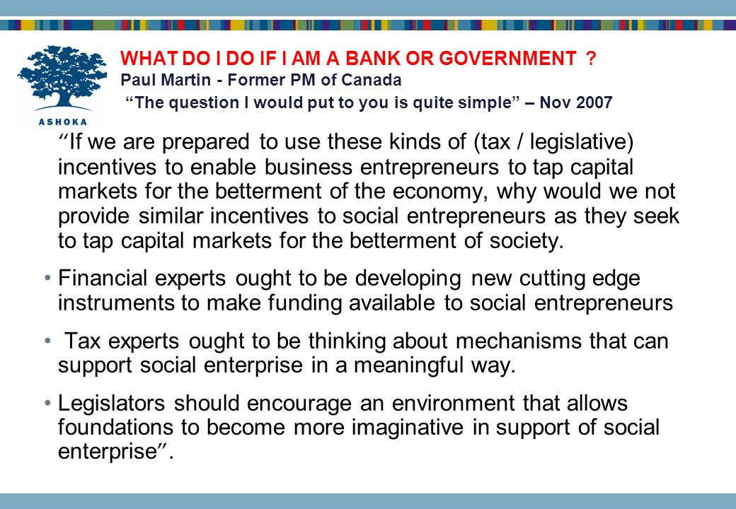 WHAT DO I DO IF I AM A BANK OR GOVERNMENT